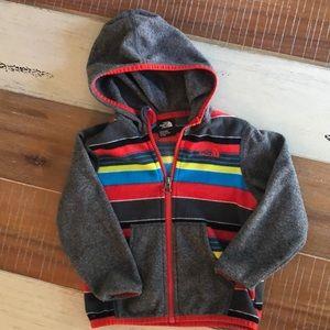 The North Face Fleece Zip Up Hoodie